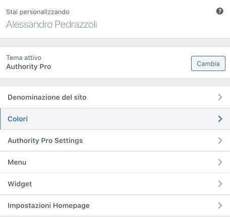 Personalizare template WordPress