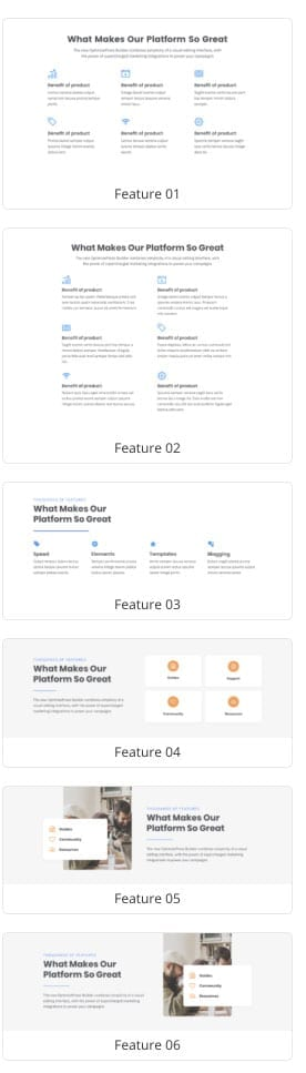 OptimizePress - features and benefits